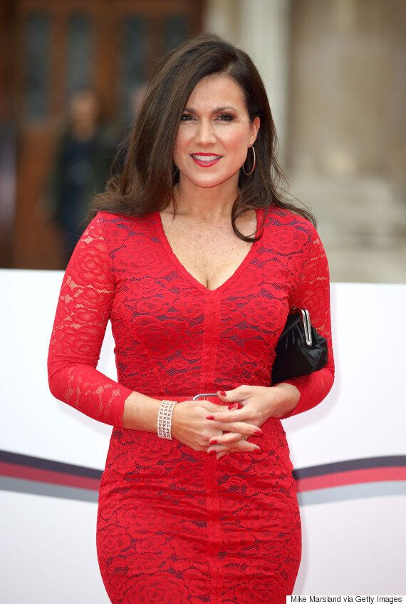 Susanna Reid Dazzles In Red At The Sun Military Awards