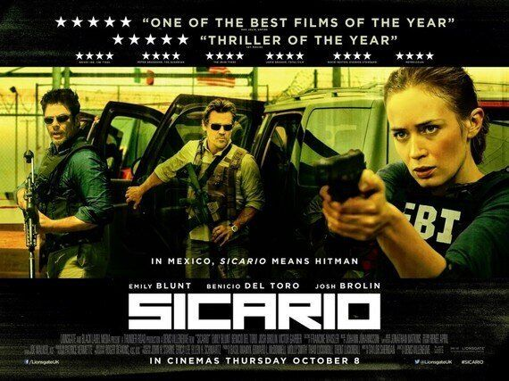 Film Reviews : Sicario - Suffragette - Red Army -