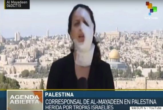 Hanna Mahameed Hit By Grenade Live On Al-Mayadeen TV, Continues To Report Hours