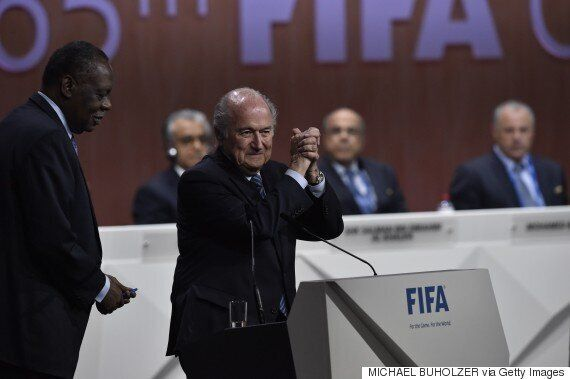 Sepp Blatter Re-Elected Fifa President At 65th Annual