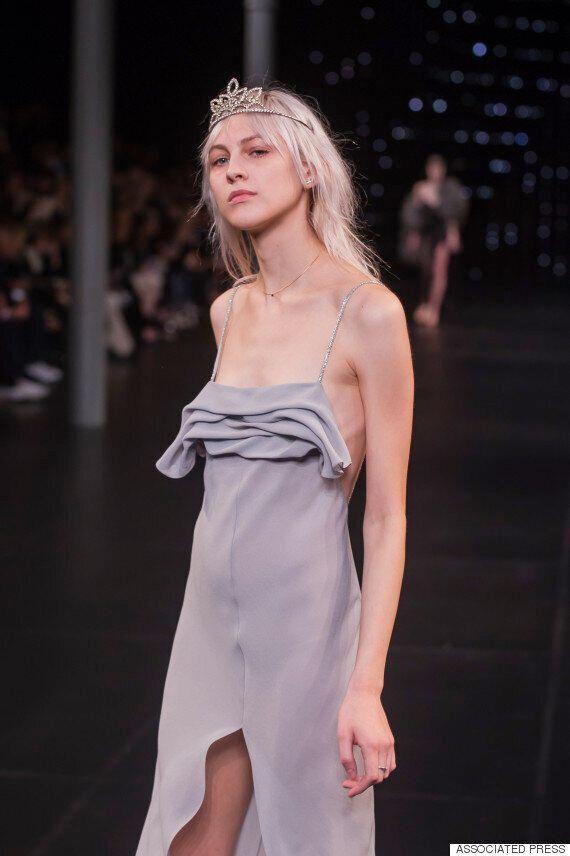 Paris Fashion Week: Saint Laurent Brings Back Courtney Love-Style 90s Grunge