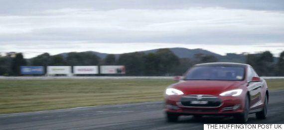 Petrol Car Walkinshaw Performance W507 Drag Races Tesla Model S And Proves A Wonderful