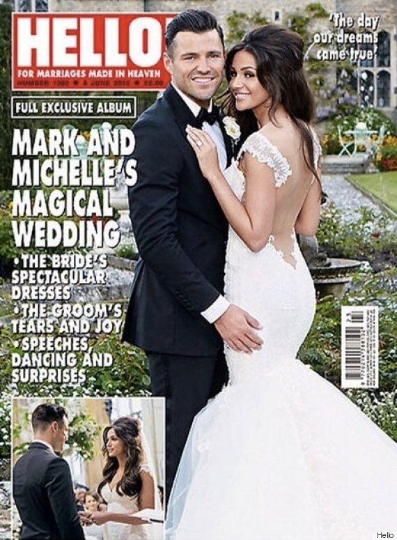Michelle Keegan And Mark Wright Wedding Photo: First Snap Of The Former 'Corrie' Star's Dress Revealed
