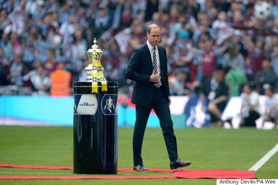 Prince William Wades Into Row Over Fifa Corruption Scandal In FA Cup Final