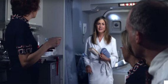 Jennifer Aniston's Emirates' Ad Will Remind You Just How Unlikely You Are To Ever Turn Left On A
