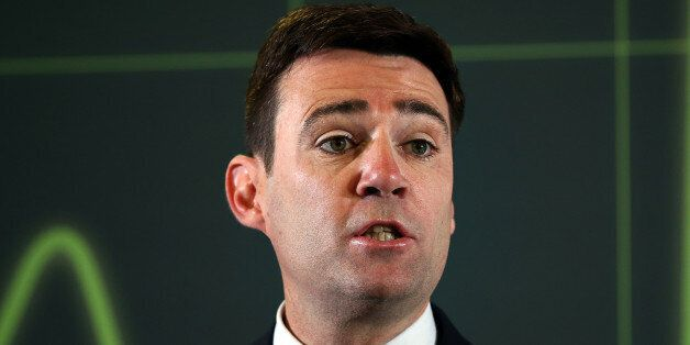 Labour leadership contender Andy Burnham says there is