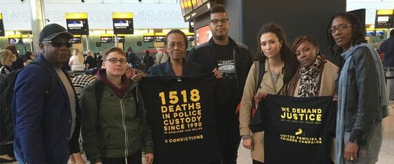 UK Family Members of Victims of State Violence and Activists Travel to the US for Justice