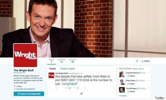 World Falls For Blatant 'The Wright Stuff' Hoax Asking For Calls About
