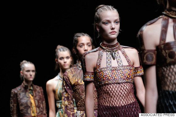 Paris Fashion Week: 'Africa Themed' Valentino Show Sparks Twitter