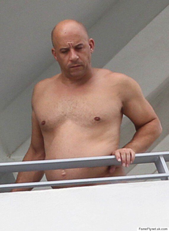 Vin Diesel Looks Like He's Enjoying Some Time Off From The Gym And Twitter Can't Handle