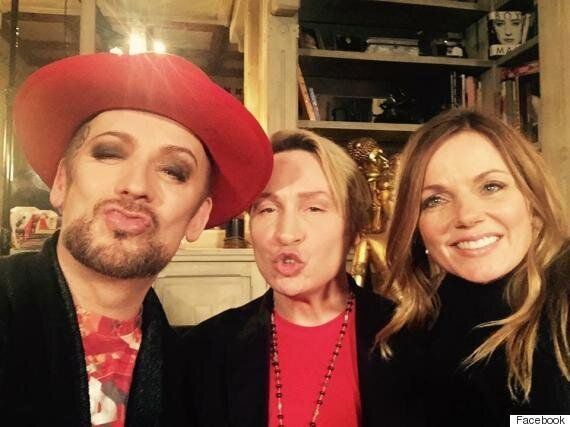 'Gogglebox': Boy George And Geri Halliwell Film Celebrity Special For Stand Up To Cancer