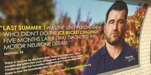 Motor Neurone Disease Association Ice Bucket Challenge Poster Really Misses The