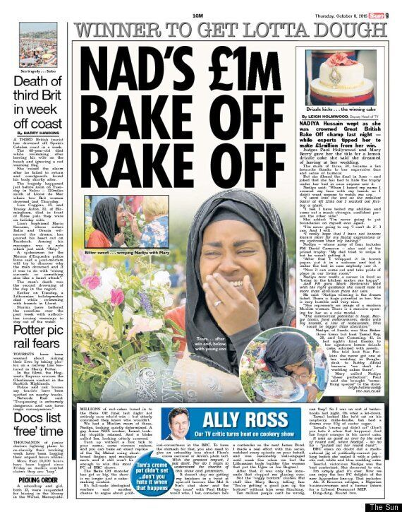 Tabloid Columnist Slammed For Claiming 'GBBO' Winner's Success Is 'Ideological