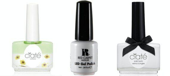 Negative Space Nails Tutorial: Get Pixie Lott's Look with