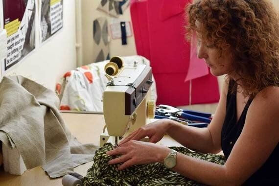 Art Installation Stitches Up Fashion