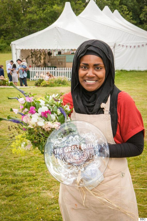 'Great British Bake Off' Winner Nadiya Reveals How She (Literally) Kept Her Triumph Under