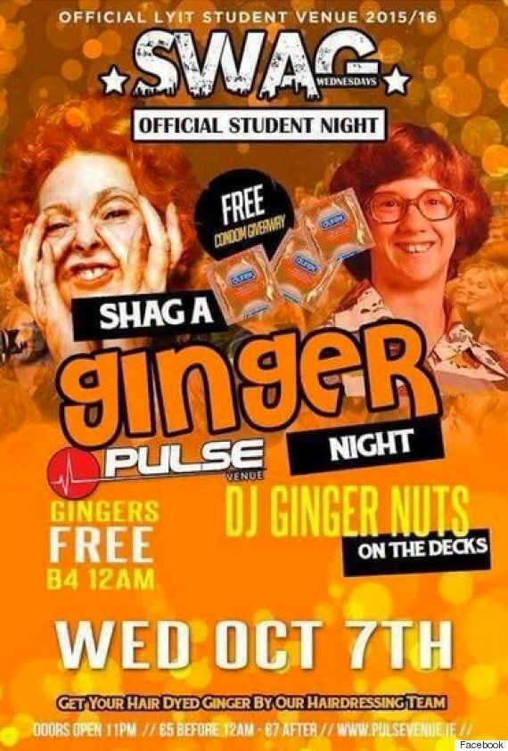 Nightclub Cancels 'Shag A Ginger' Night After Parents Label It