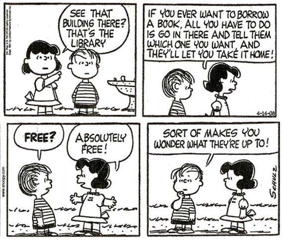 Get The Grumpy Unfriendly Library Staff Out! (... For Our Children's