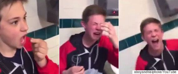 Boy Eats World's Hottest Pepper And Genuinely Thinks He's Going To