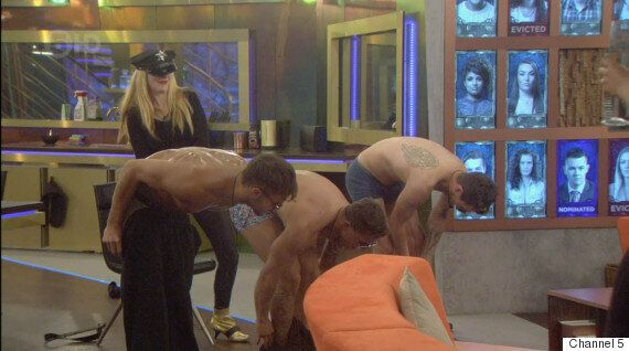 'Big Brother': Cristian, Marc And Danny Strip Off In Sexy Routine For Eileen's Birthday