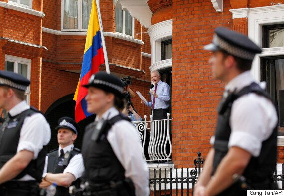 Julian Assange Police Stakeout At Ecuadorian Embassy Ends After Three