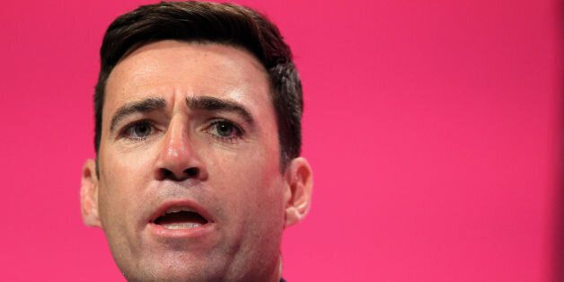 File photo dated 24/8/2014 of would-be party leader Andy Burnham who said that Labour should run its...