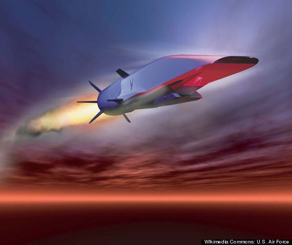 The US Military's Astonishing New Hypersonic Aircraft Can Hit Speeds Of MACH