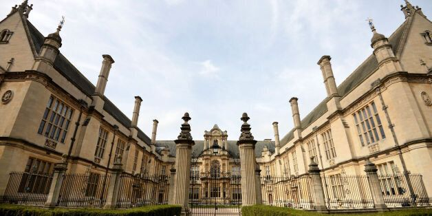 File photo dated 20/03/14 of the Oxford University Examination School in Oxford, as the UK boasts nearly...