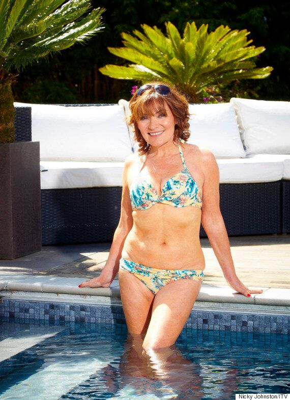 Lorraine Kelly Strips To Her Bikini And Looks Amazing In Series Of Untouched Photos: 'I Feel Confident......