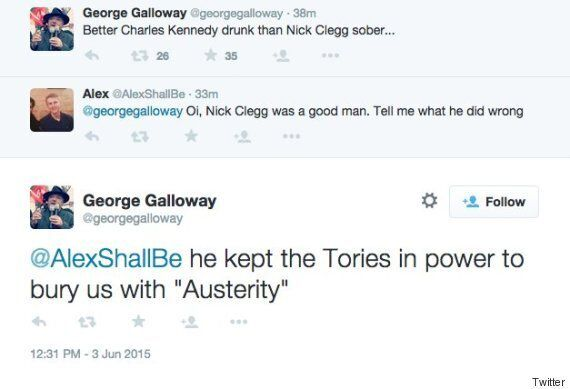 George Galloway Instantly Rebuked For Comments On 'Drunk' Charles