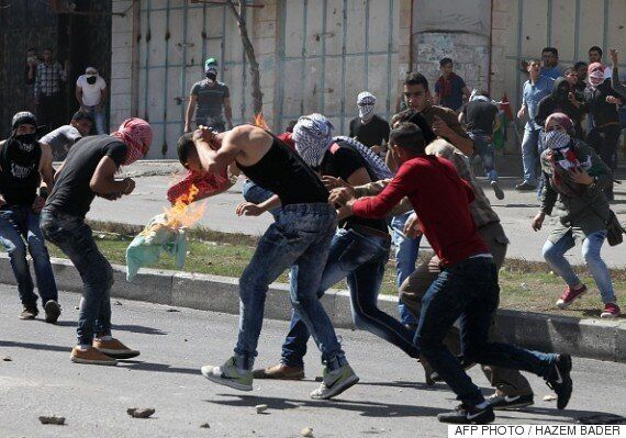 Palestinian Student Sets Himself On Fire In Clashes With Israeli Soldiers In West