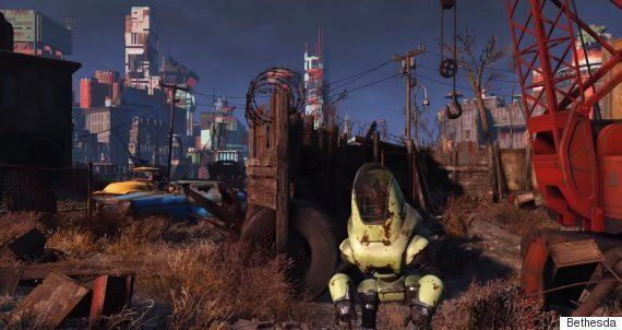 The Fallout 4 Trailer Is Now