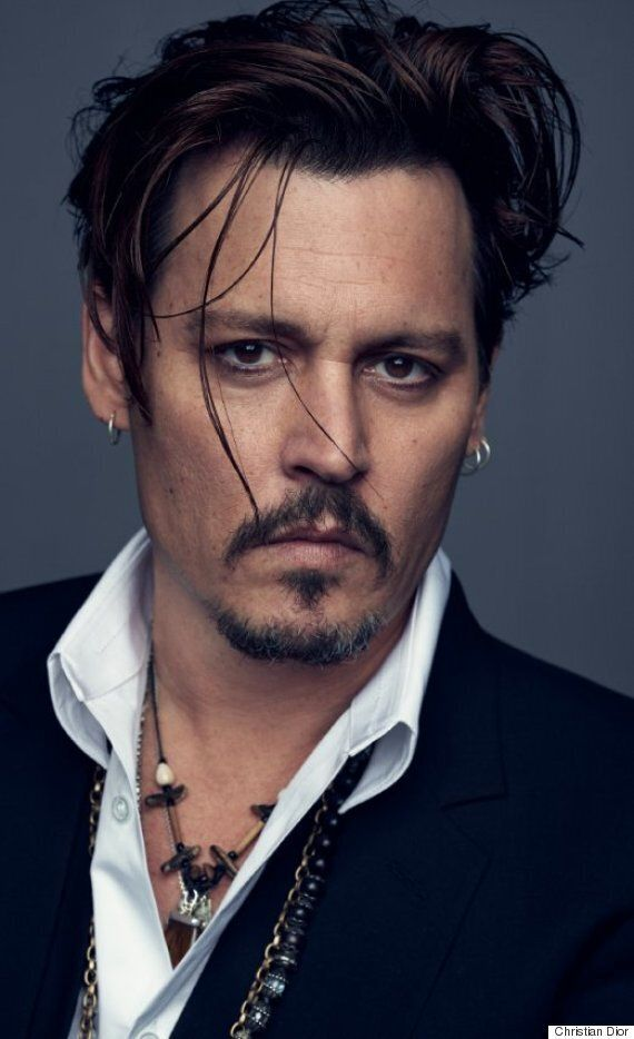 Johnny Depp Named As The New Face Of Christian Dior