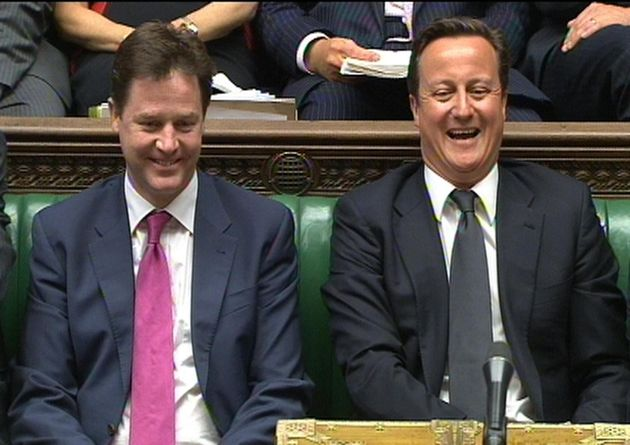 Nick Clegg Says His Biggest Mistake Was Sitting Next To David Cameron At