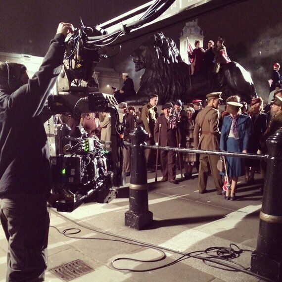 Behind the Scenes on 'A Royal Night