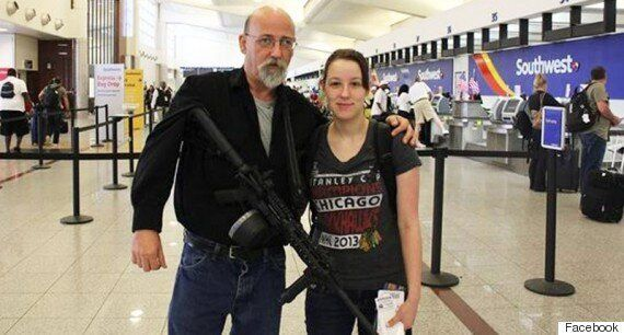 Jim Cooley Walks Around Atlanta Airport With An AR-15 And 100 Rounds Because 'Something Might