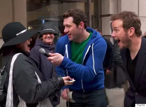 Billy On The Street Tries To Introduce Chris Pratt To Strangers In New York, With Mixed Results!