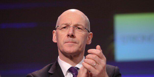 John Swinney, Scotlands deputy first