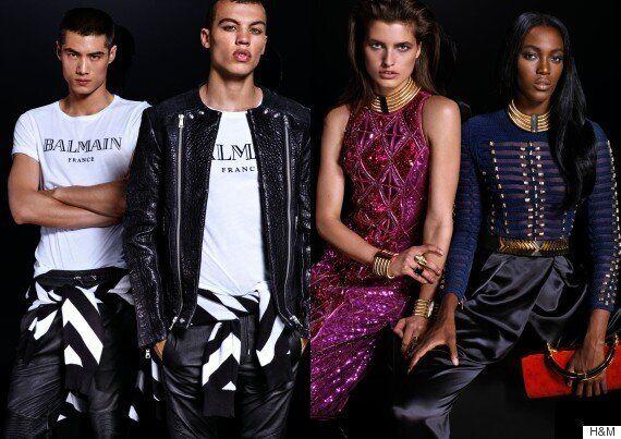 Balmain X H&M: Men's And Women's Lookbook Finally