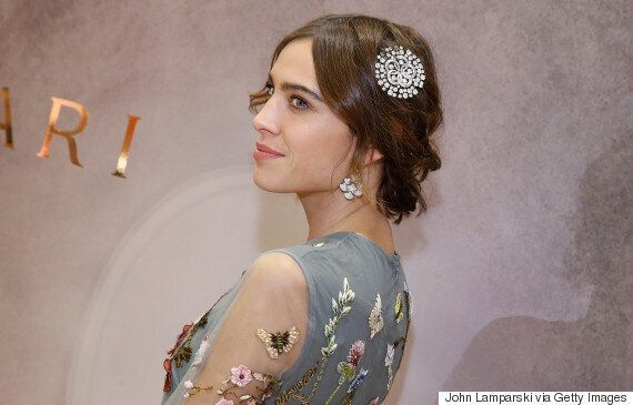 Alexa Chung Scares Neighbours In Floral Valentino
