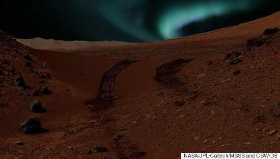 The Northern Lights On Mars Are Absolutely