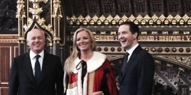 Iain Duncan Smith, Michelle Mone and George