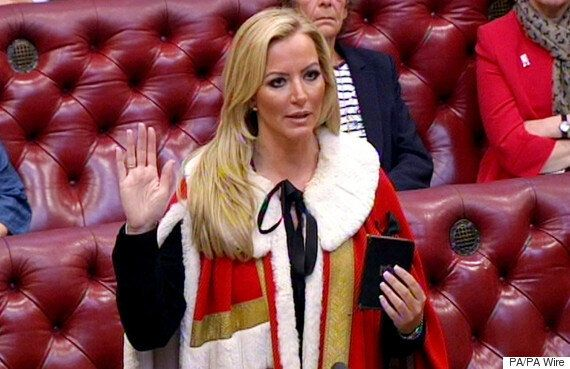 Michelle Mone Puts A Smile On George Osborne's Face As She Joins The House Of