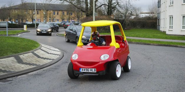Adult Sized Little Tikes Car Is Now Up For Sale On Ebay Huffpost Uk
