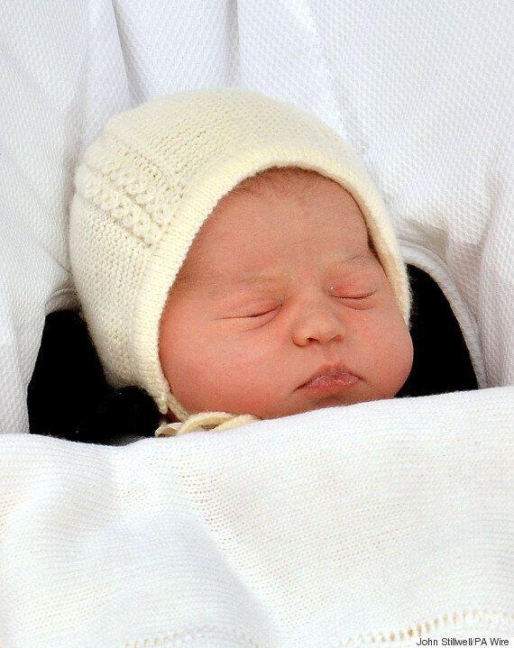Princess Charlotte Christening Date