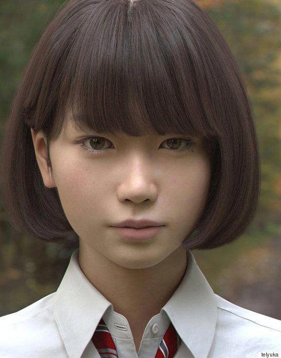 Tokyo 3D Computer Graphics Artists Create Freakishly Lifelike Japanese Girl