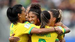 Empresas abraçam Copa Feminina e vão parar na hora do jogo para ver as atletas