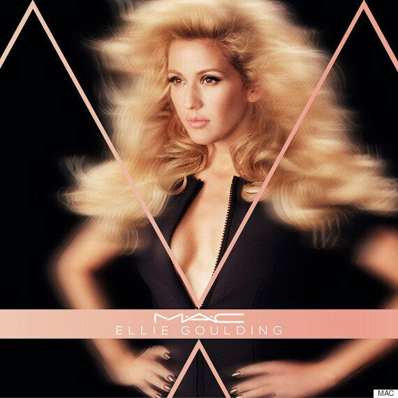 Ellie Goulding MAC Collection: First Teaser Pictures