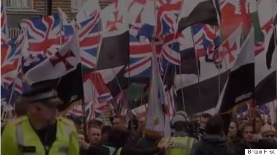Britain First Descends On Burton-Upon-Trent To Fight Plans For So-Called 'Mega