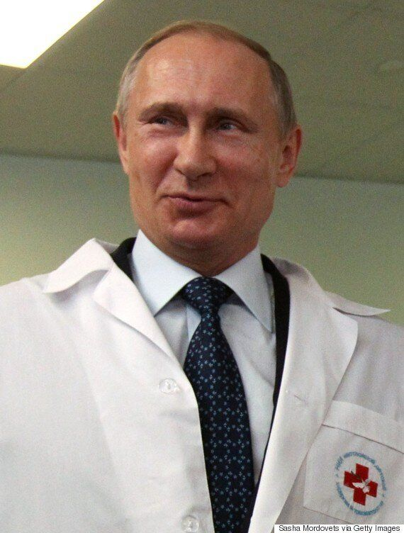 Vladimir Putin Says 'Only An Insane Person' Would Think Russia Would Attack